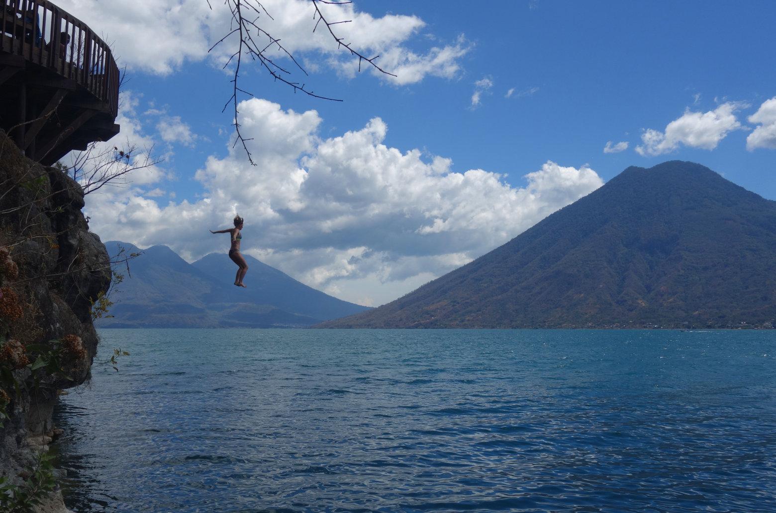 Guatemala Lago Atitlan San Marcos Sprung Franzi