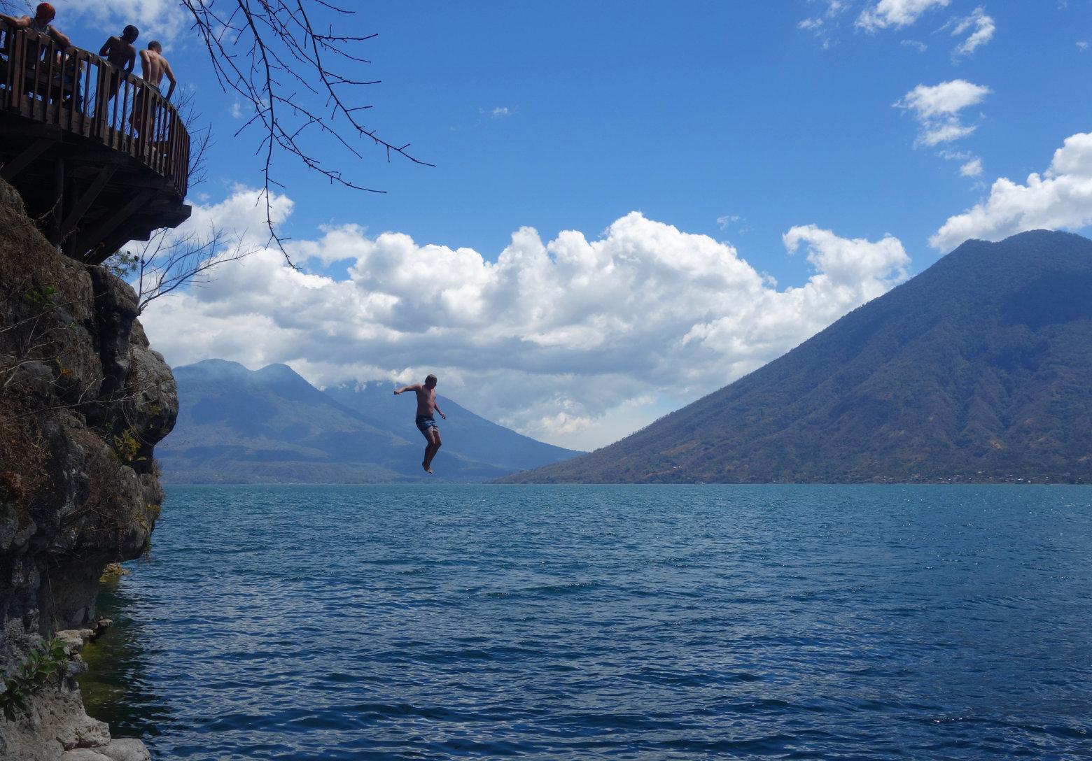 Guatemala Lago Atitlan San Marcos Sprung