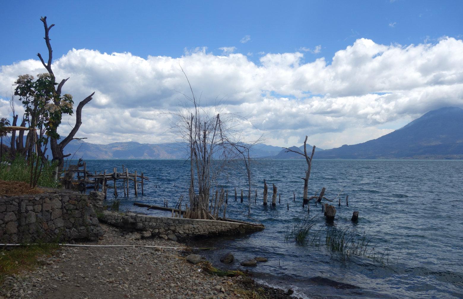 Guatemala Lago Atitlan San Marcos Seeblick