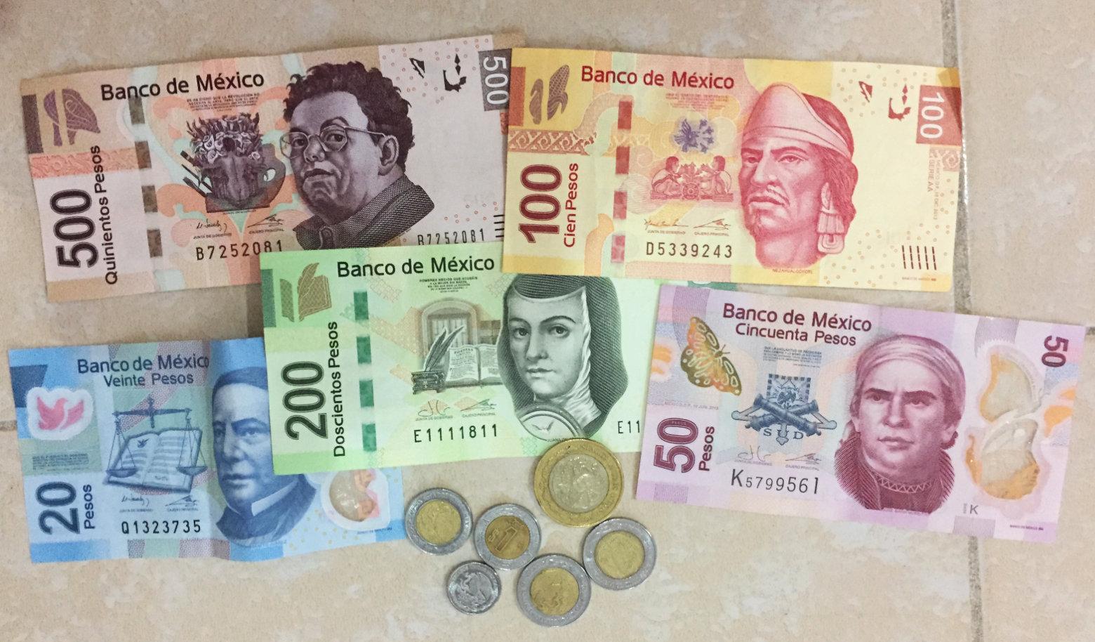 Mexiko Reisetipps Geldscheine