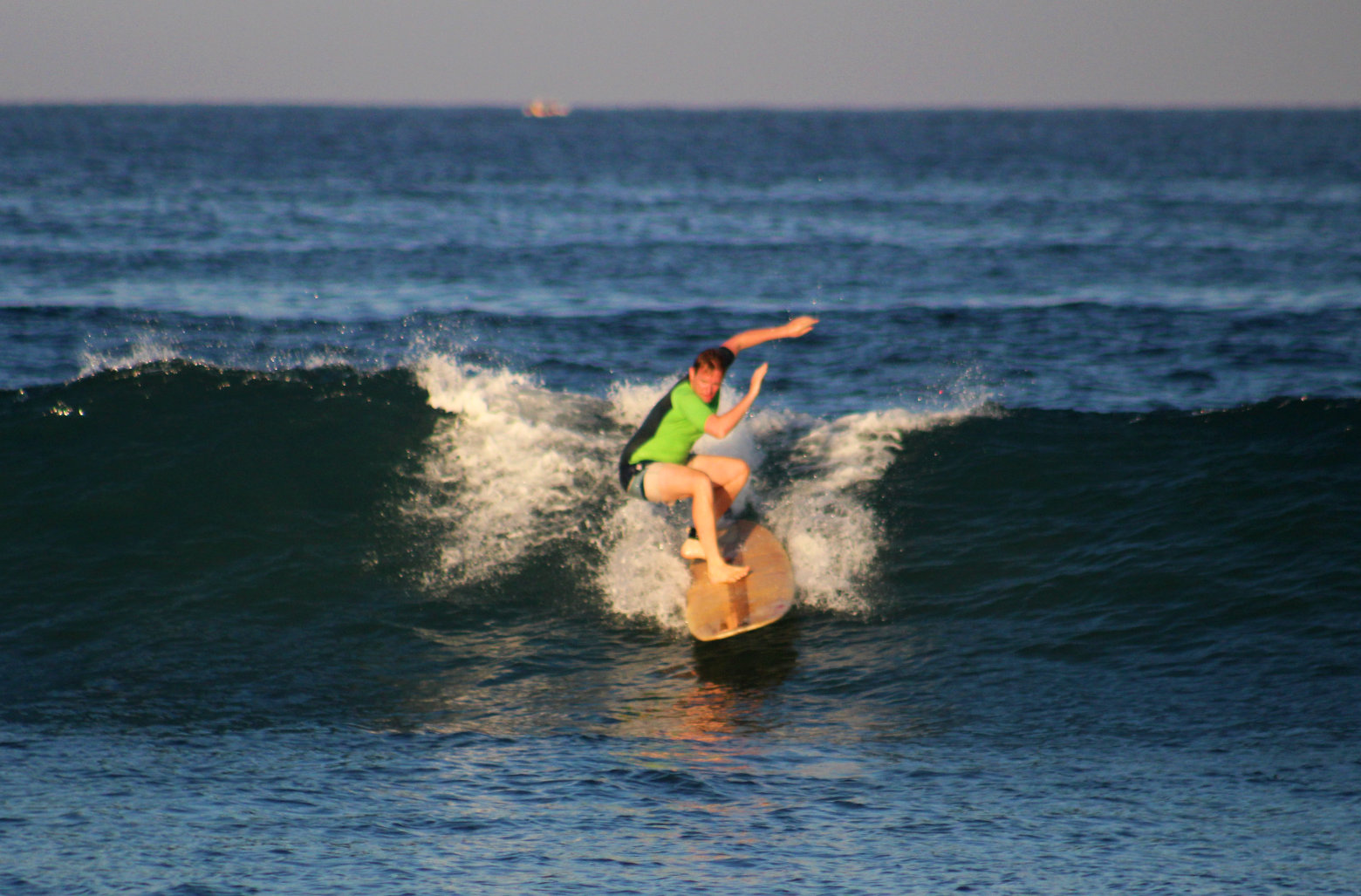 Mexiko Puerto Escondido Surfen Matthias