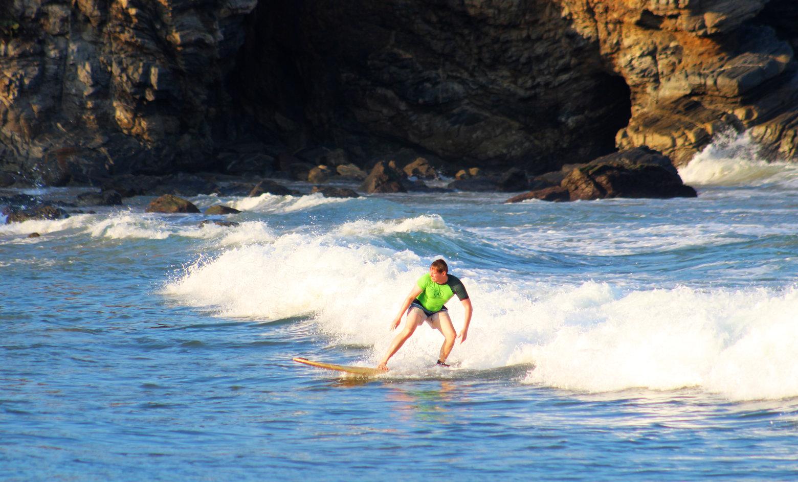 Mexiko Puerto Escondido Surfen