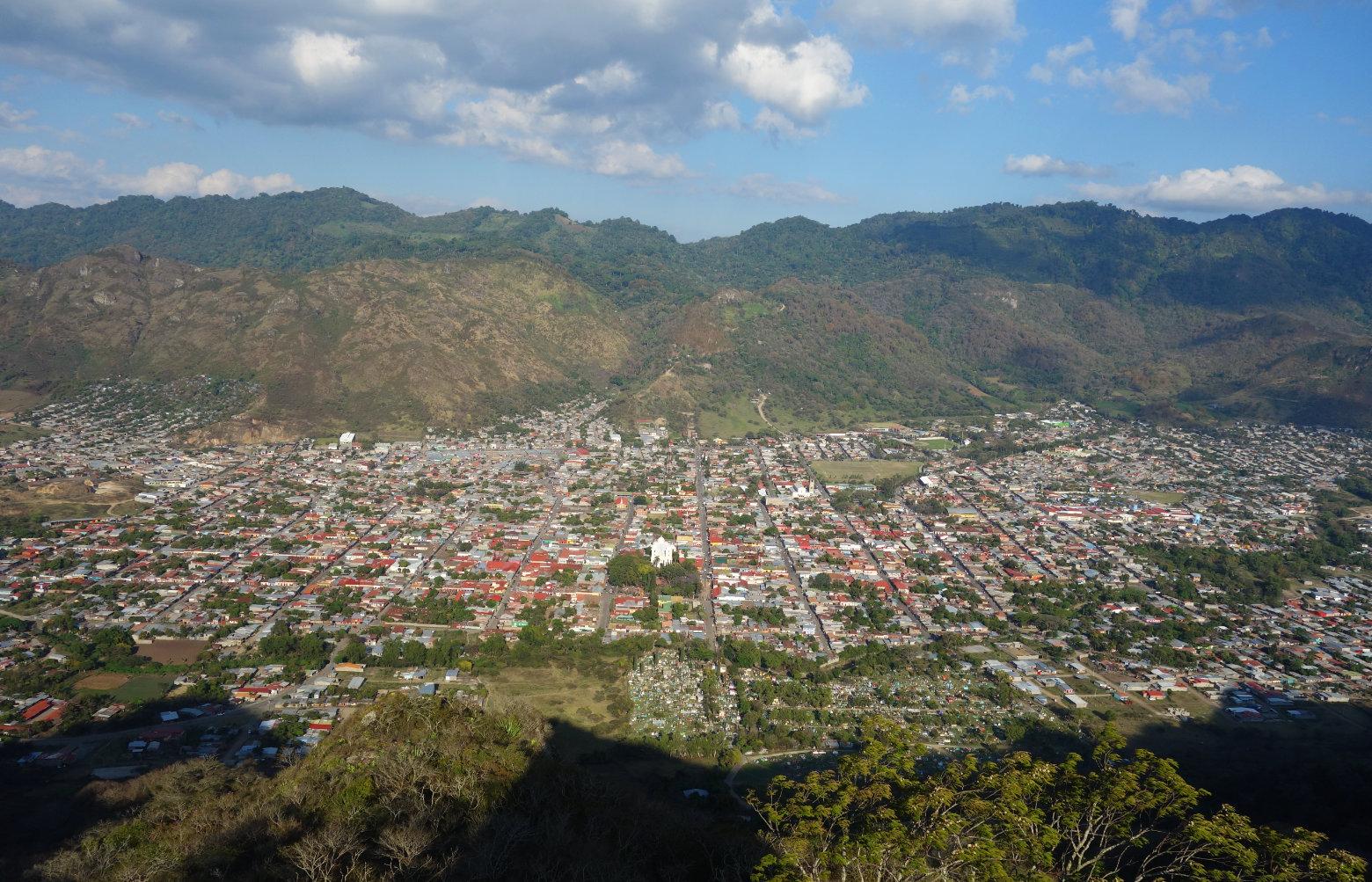 Nicaragua Norden Jinotega Blick von oben