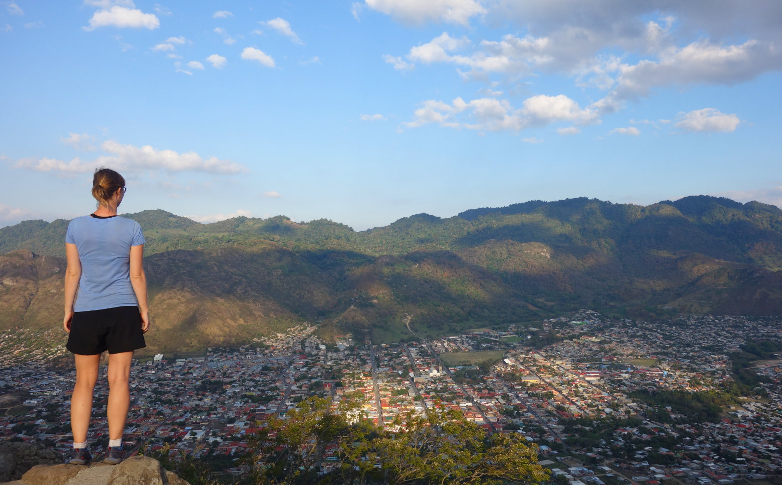 Nicaragua Norden Jinotega Blick Franzi