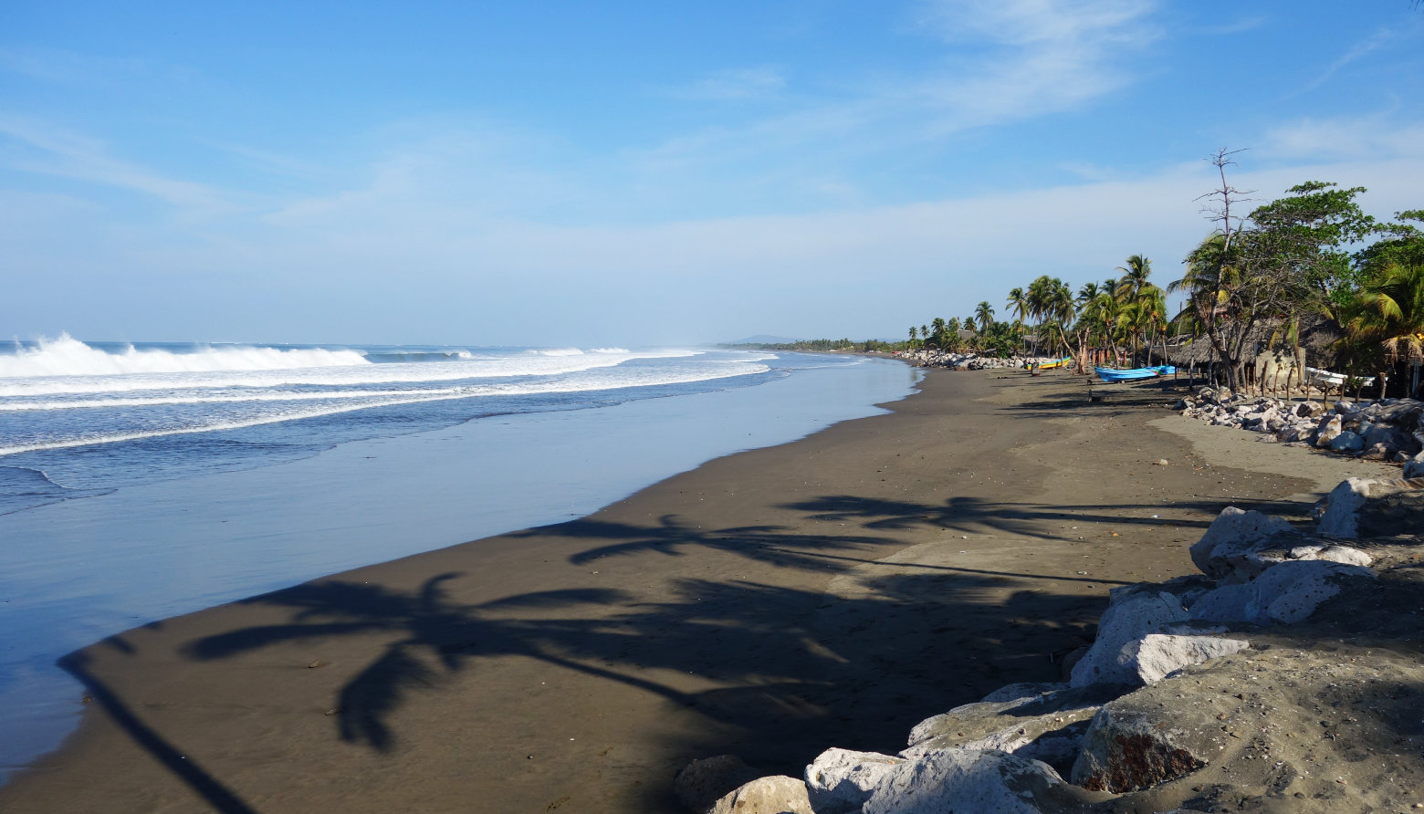 Nicaragua Jiquilillo Strand