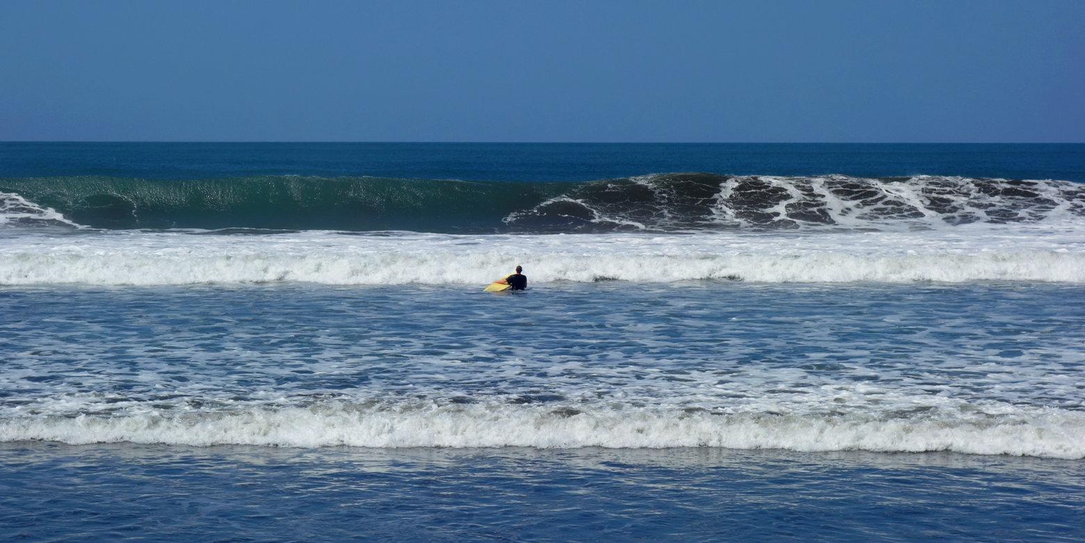 Nicaragua Jiquilillo Surfen Meer