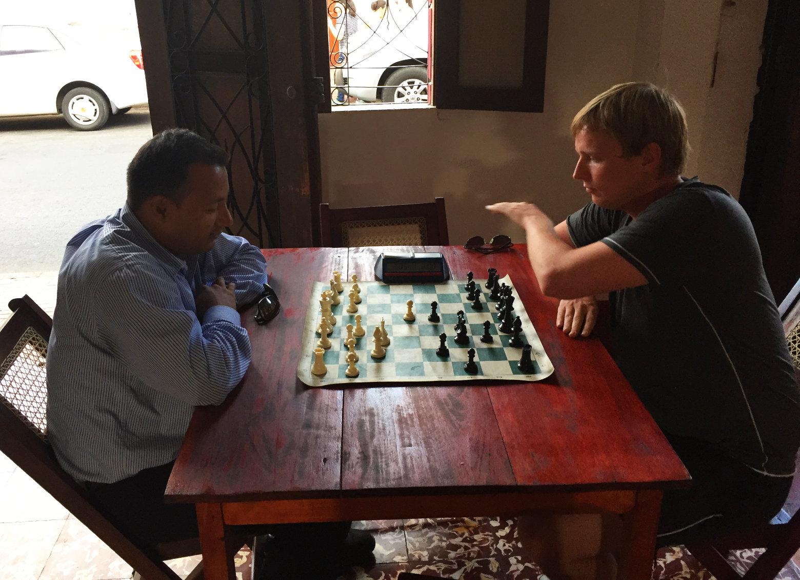 Nicaragua León Schachspiel