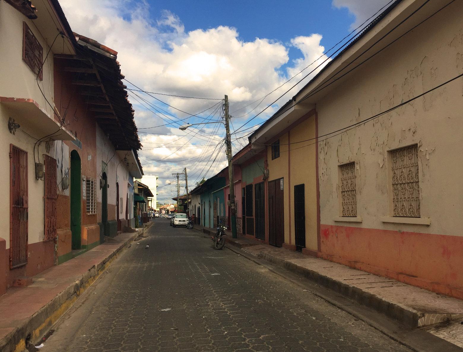 Nicaragua León Straße