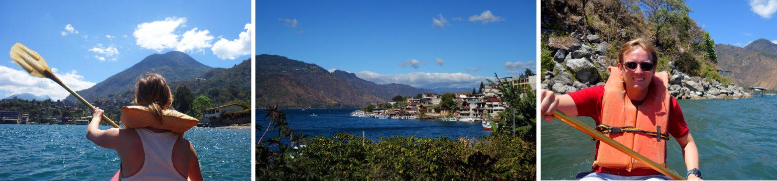 Guatemala Lago Atitlan San Pedro Kajak