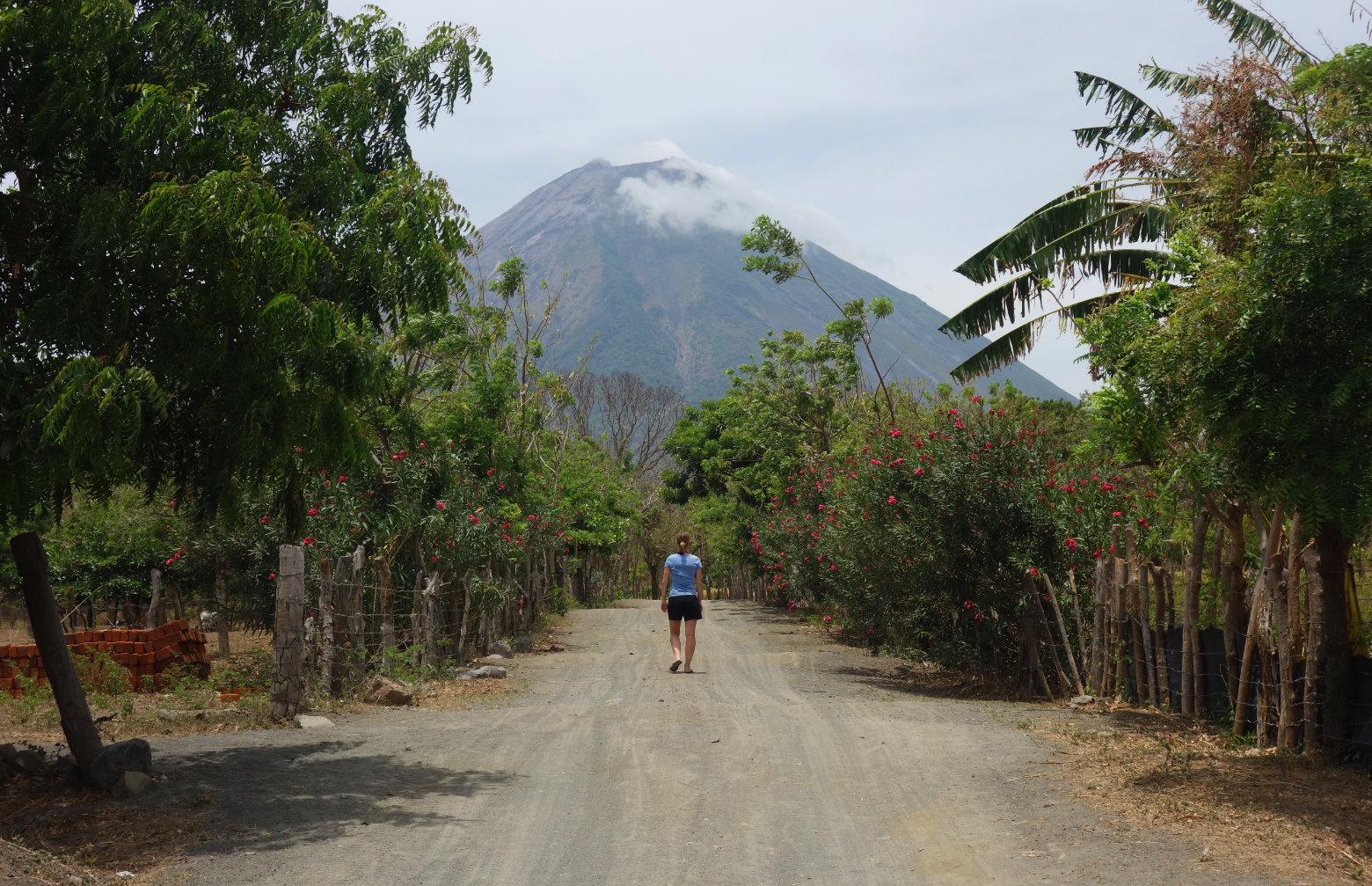 Nicaragua Isla de Ometepe Vulkan