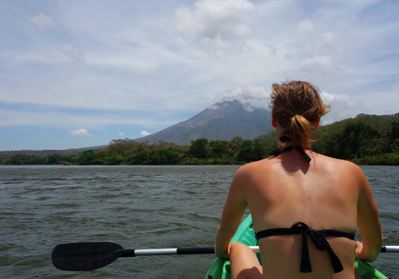 Nicaragua Isla de Ometepe Kajak