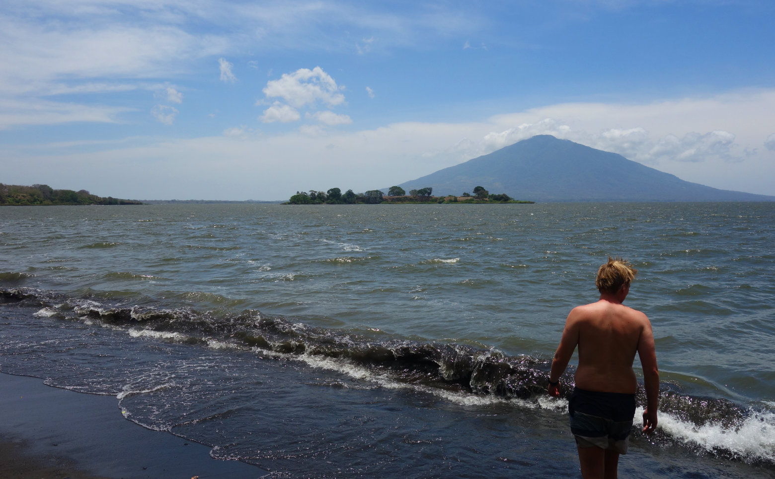 Nicaragua Isla de Ometepe Kajak Insel