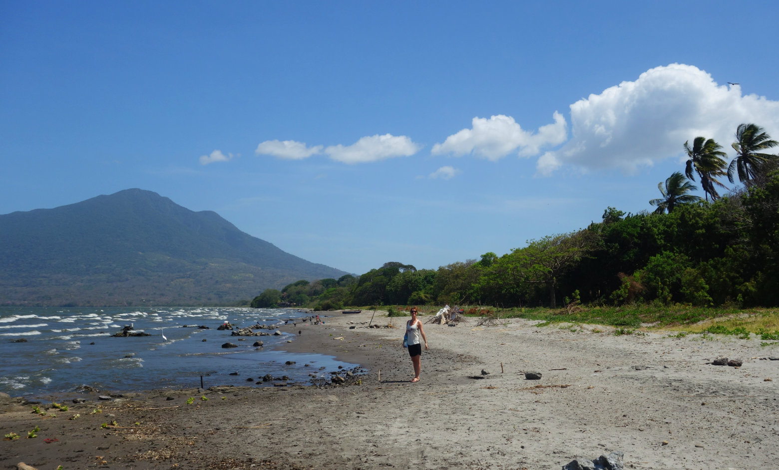 Nicaragua Isla de Ometepe Playa Primavera