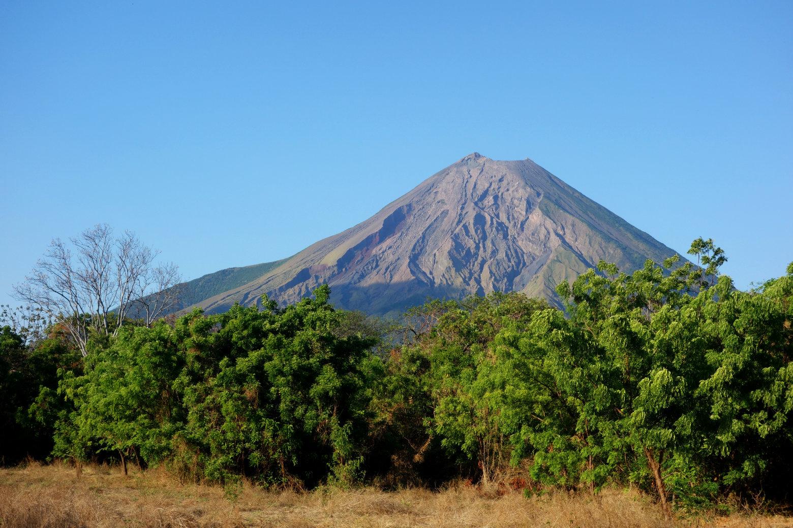 Nicaragua Isla de Ometepe Vulkan Concepcion
