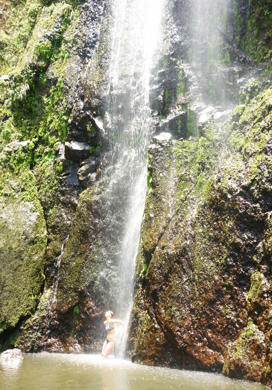 Nicaragua Isla de Ometepe Wasserfall San Ramon