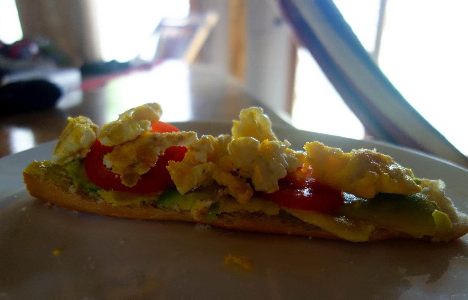 Nicaragua Playa Maderas Frühstück