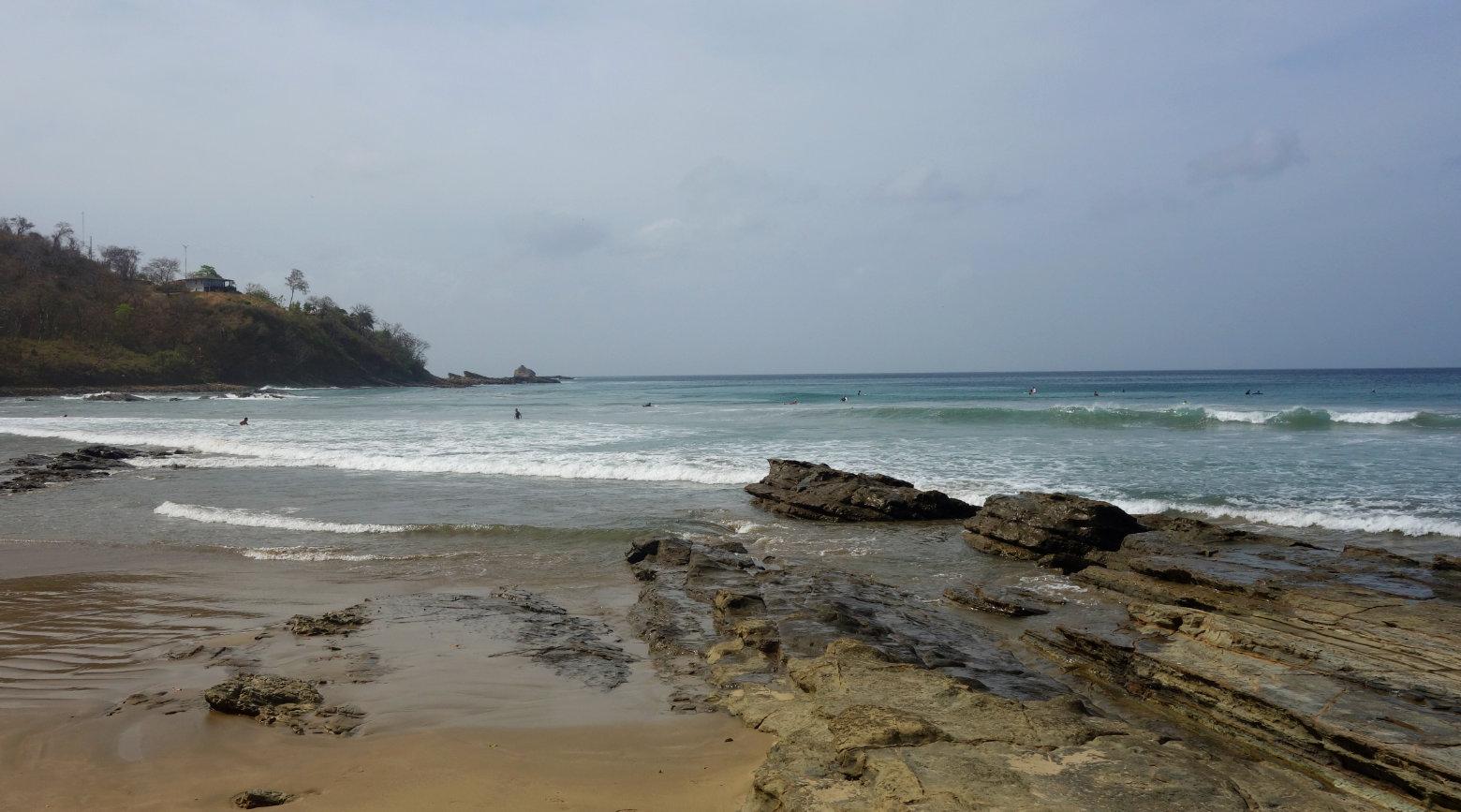 Nicaragua Playa Maderas Surfstrand