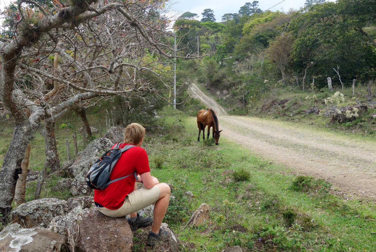 Nicaragua Norden San Rafael Wanderung