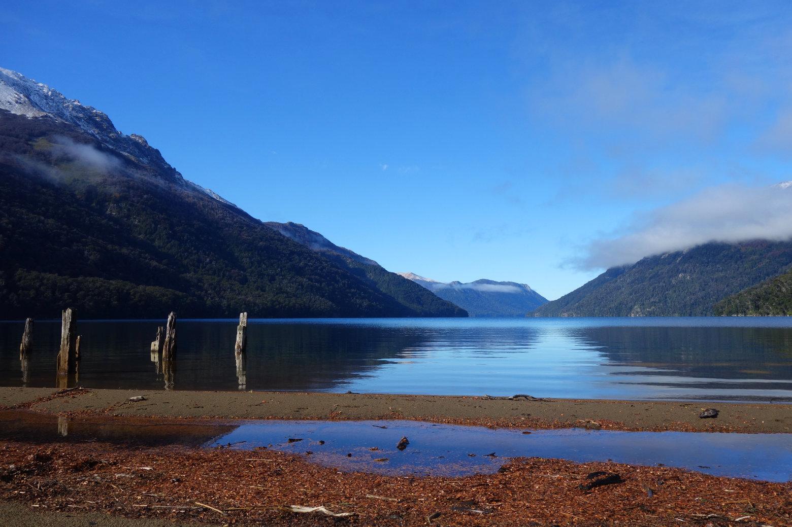 Argentinien Seengebiet Lago Traufe