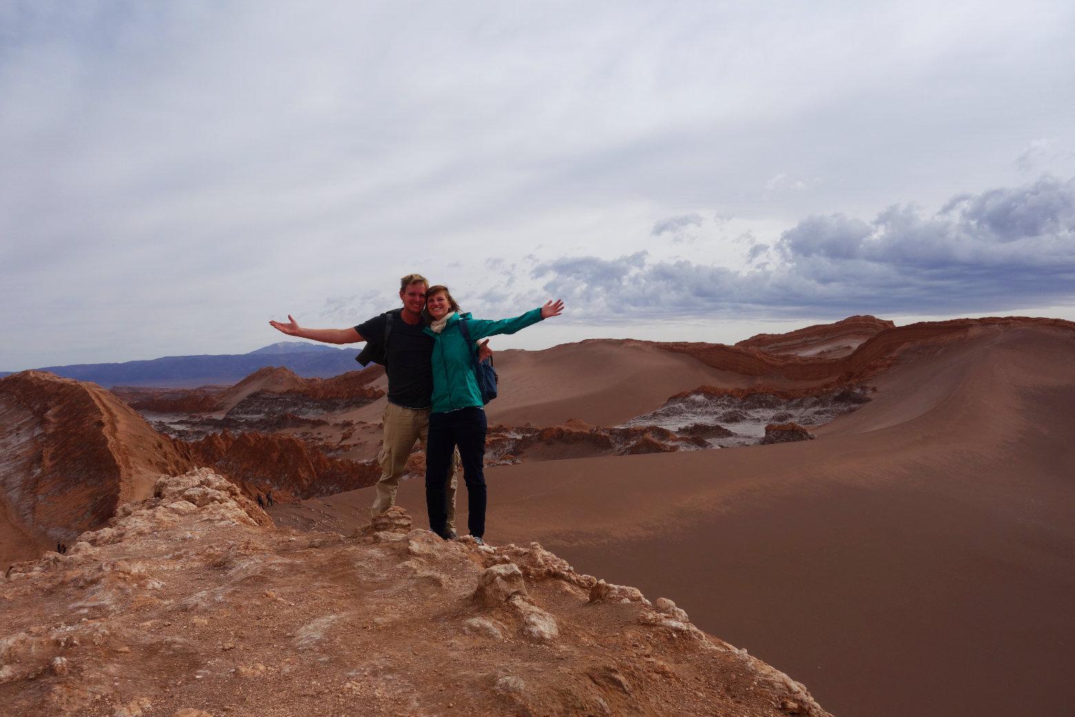 Atacama Valle de la Luna Duna Major Paar