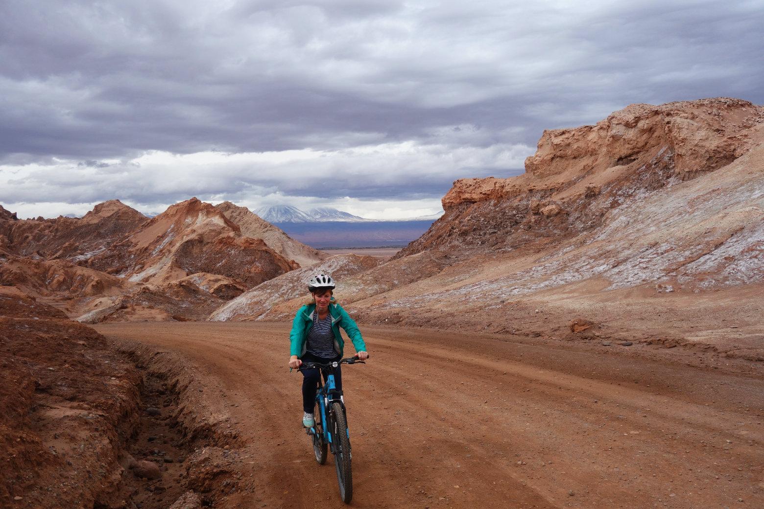 Atacama Valle de la Luna Fahrrad