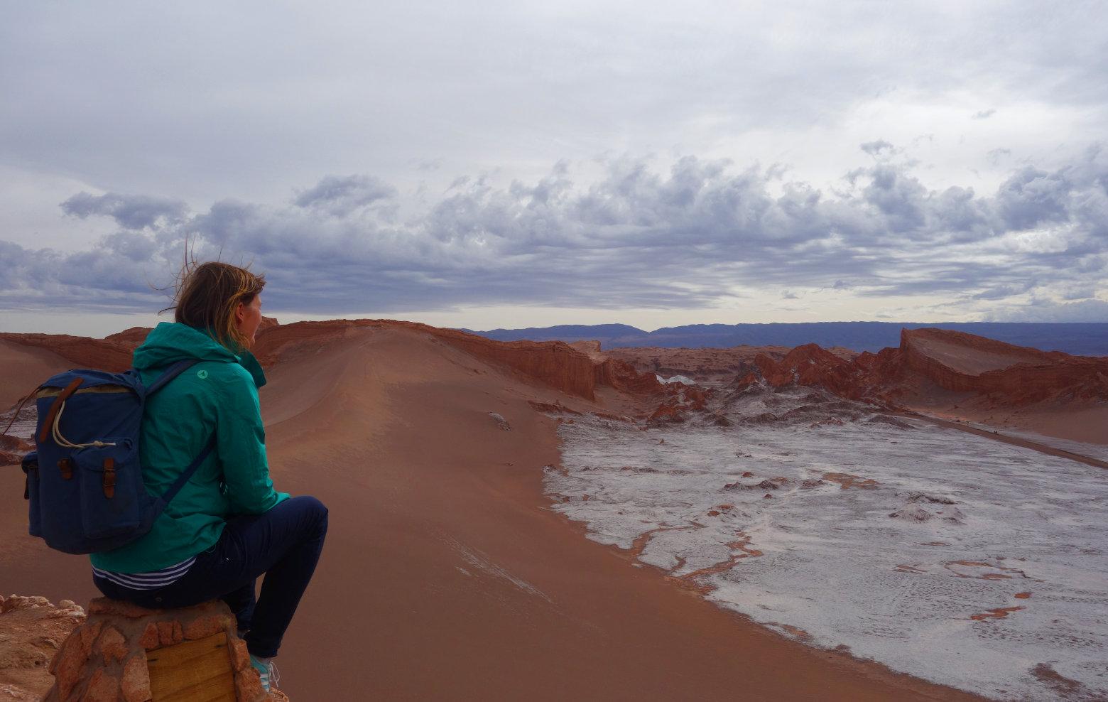 Atacama Valle de la Luna Wüste und Salz