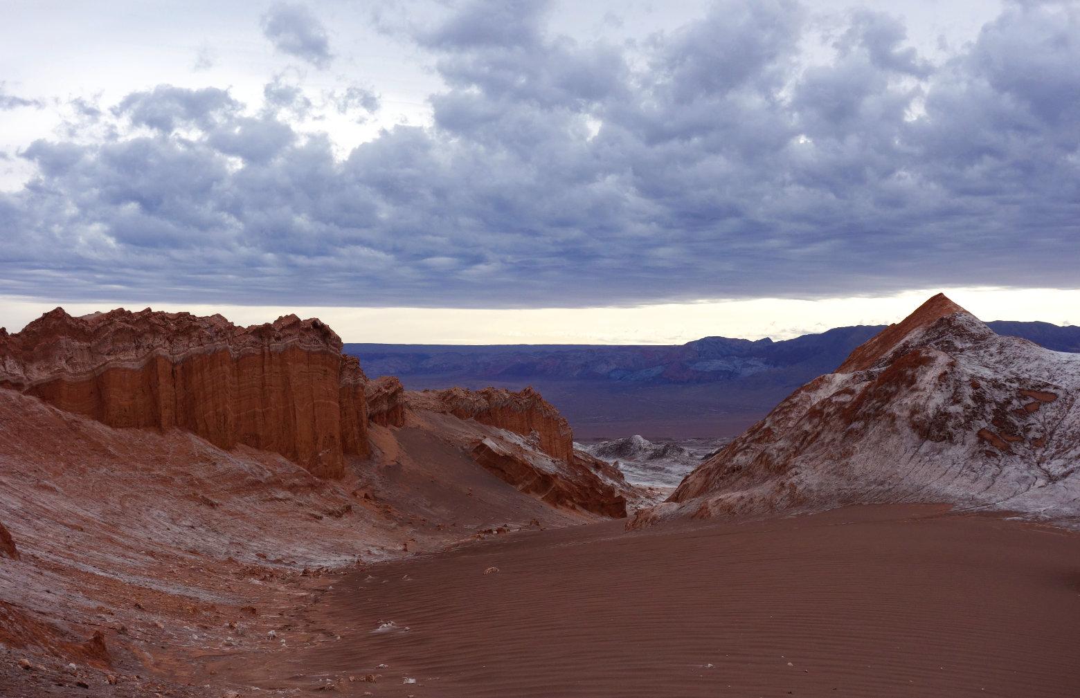Atacama Valle de la Luna Amphiteatro