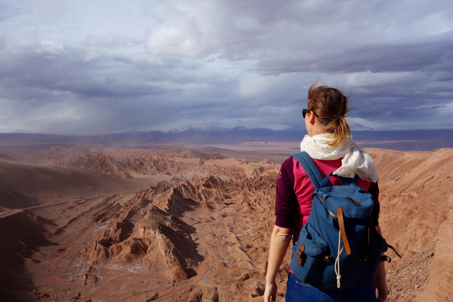 Atacama Mirador Valle de la Muerte