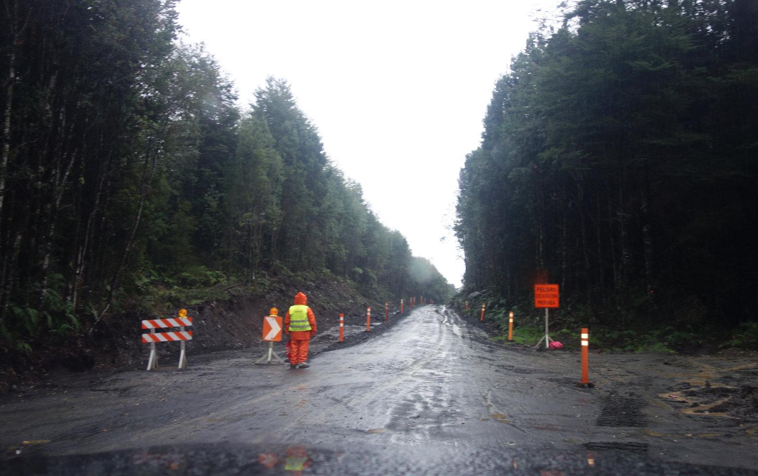 Chile Carretera Austral Regen