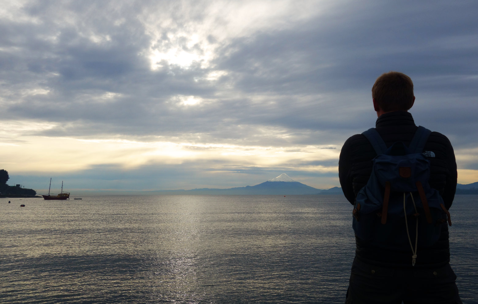 Chile Puerto Varas Blick auf Osorno