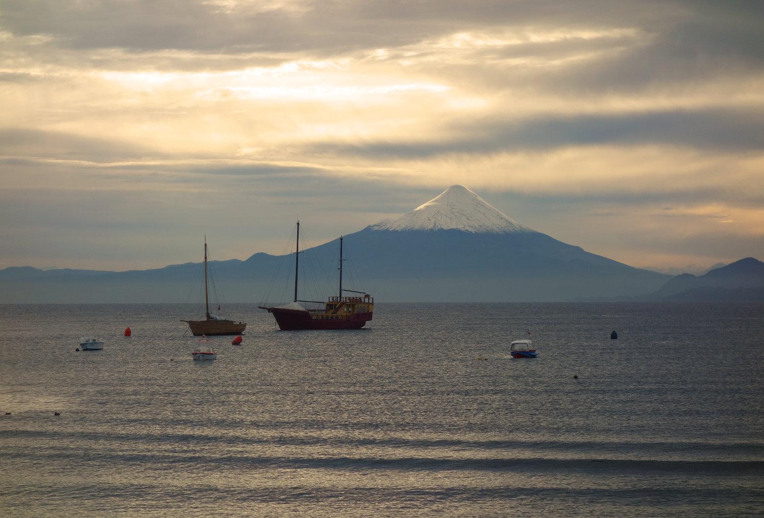 Chile Vulkan Osorno