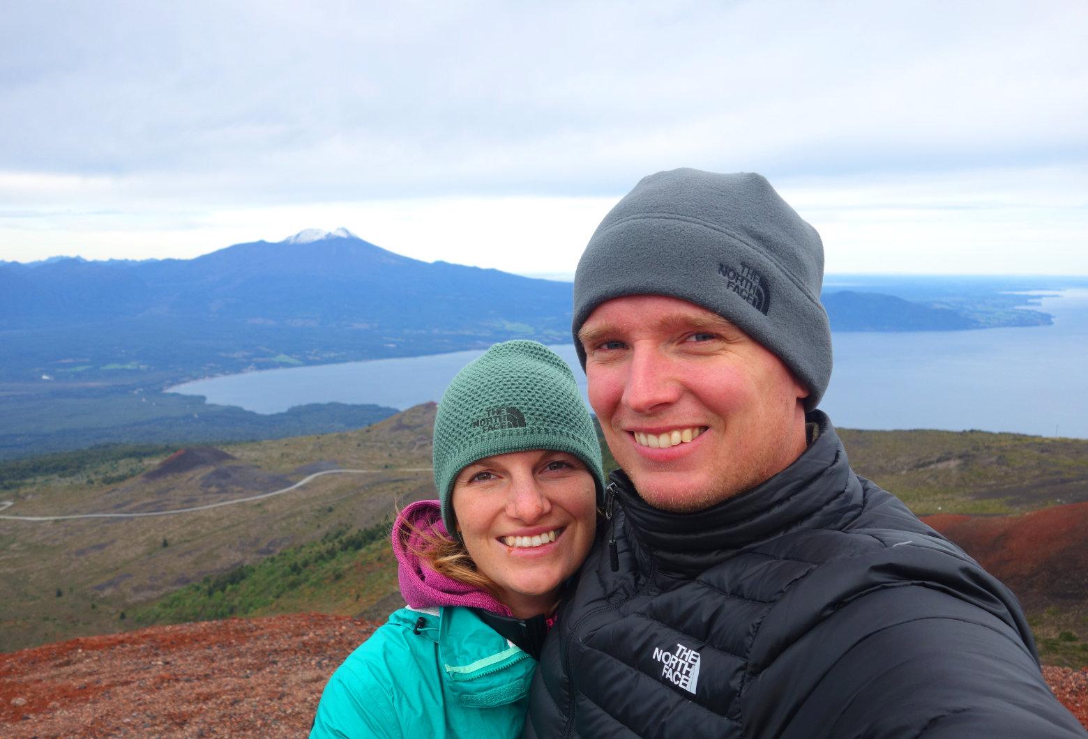 Chile Vulkan Osorno Blick auf See