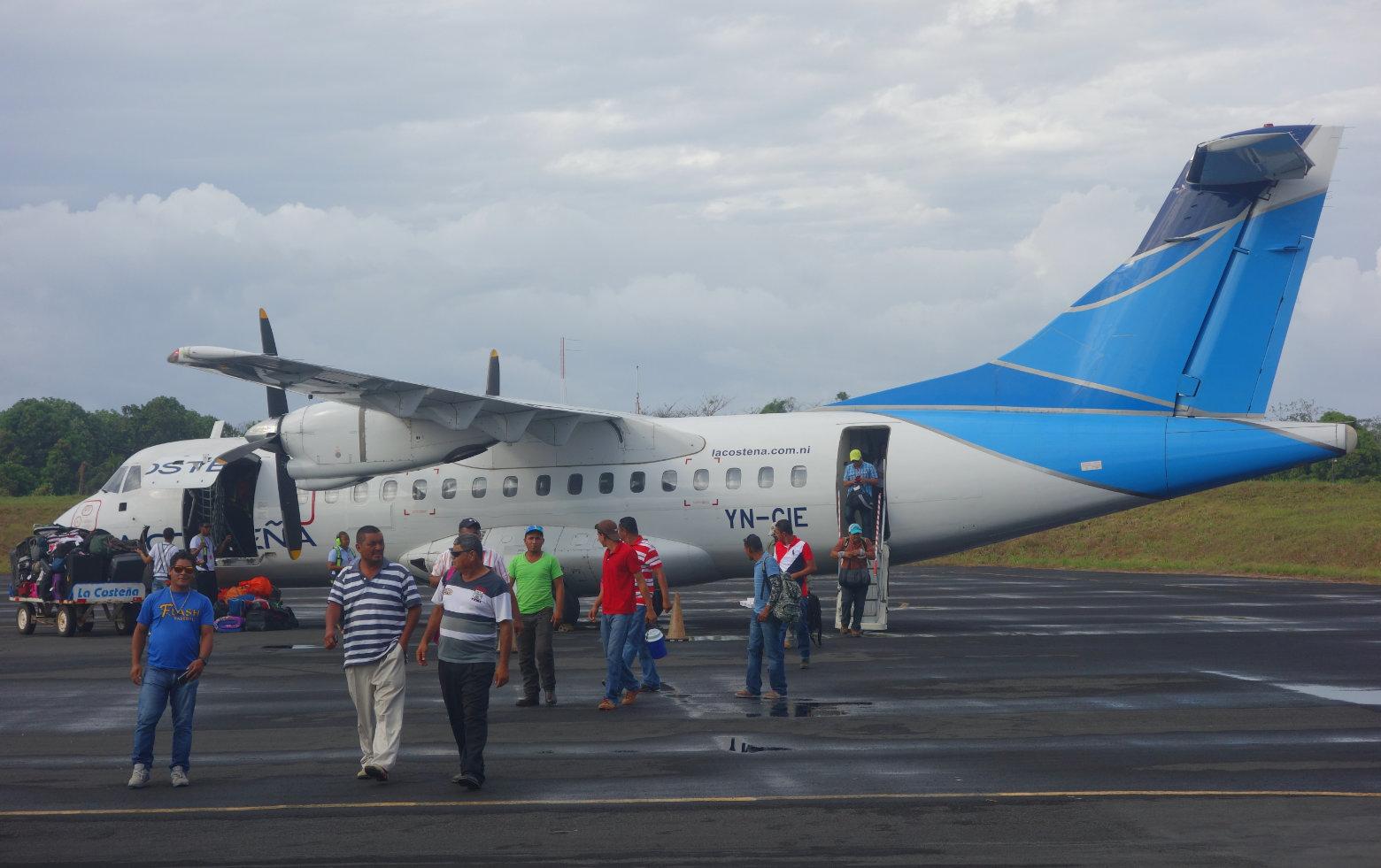 Nicaragua Reisetipps Transport Flugzeug