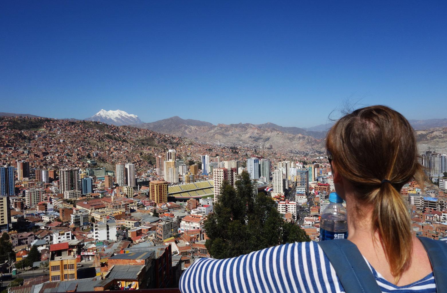 Bolivien La Paz Mirador Kili Kili