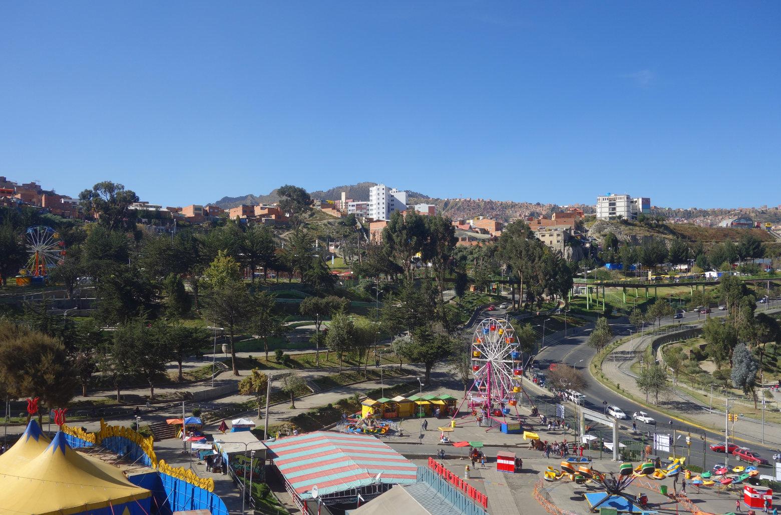 Bolivien La Paz Parque Urbano Central