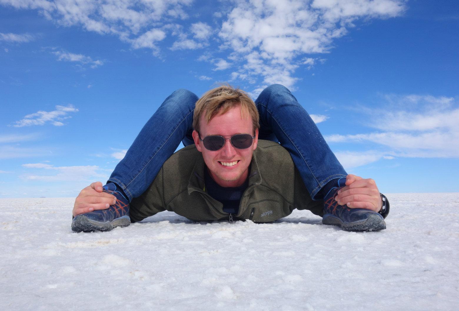 Bolivien Salar de Uyuni Effektfoto