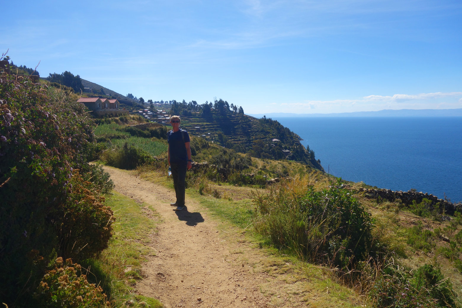 Bolivien Titicacasee Isla del Sol