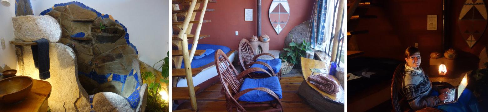 Bolivien Titicacasee Unterkunft Las Las