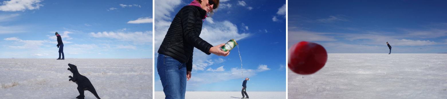 Bolivien Salar de Uyuni Foto Fails