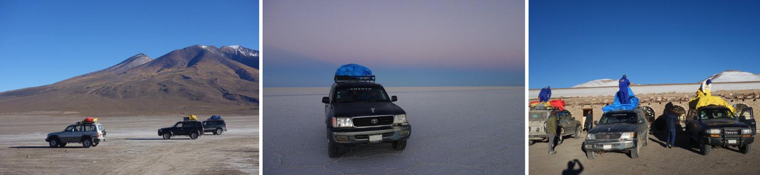 Bolivien Salar de Uyuni Jeep