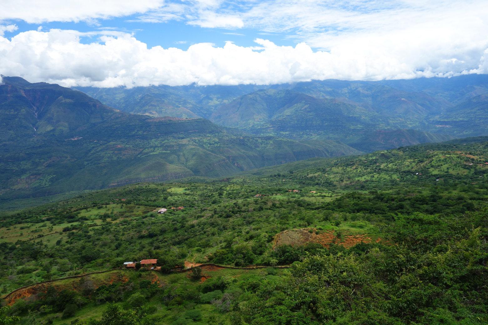 San Gil Grüne Berge