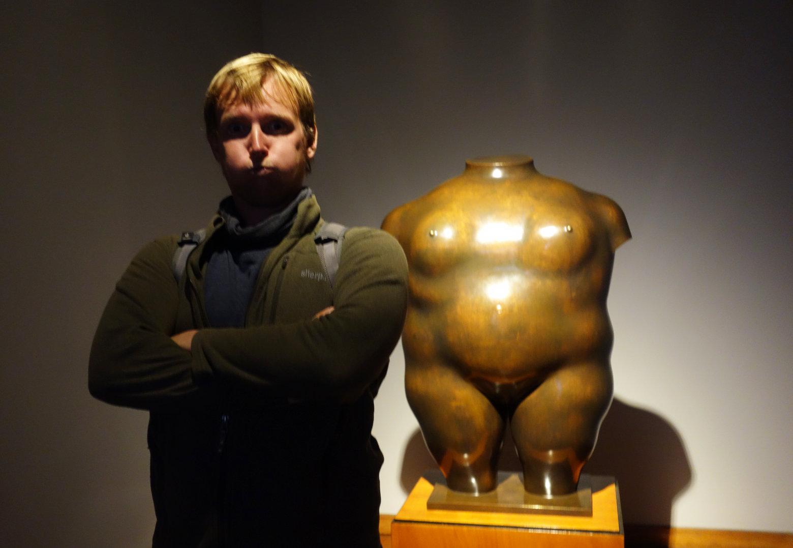 Bogotá Skulptur Botero