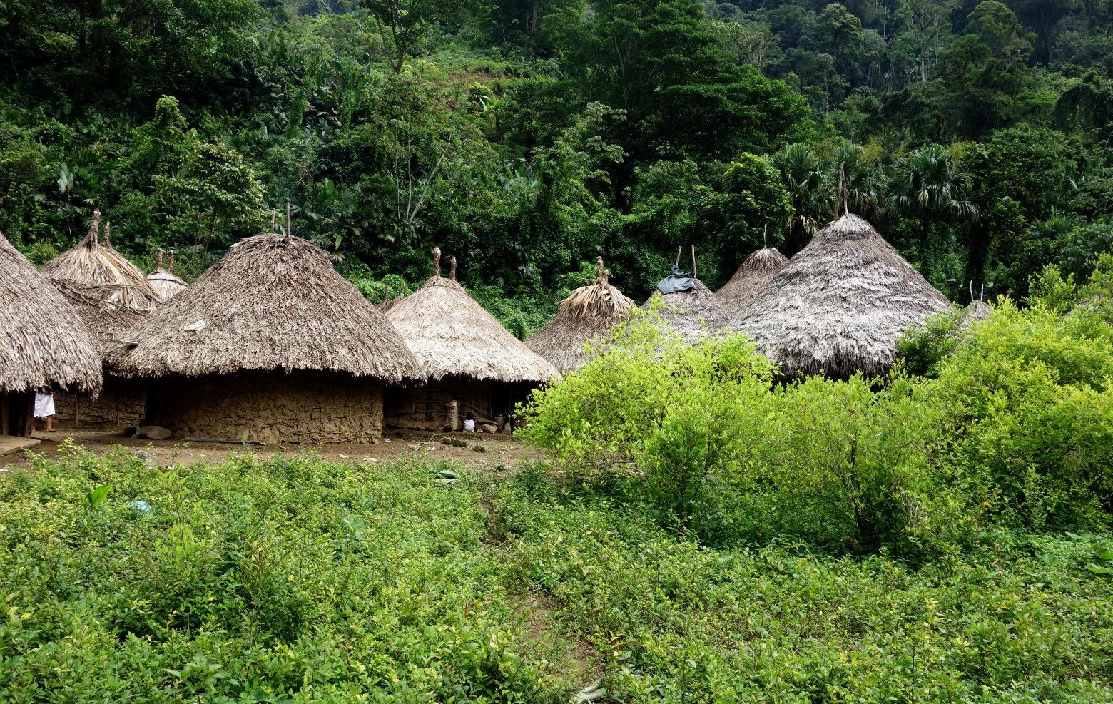 Ciudad Perdida Kogi Dorf
