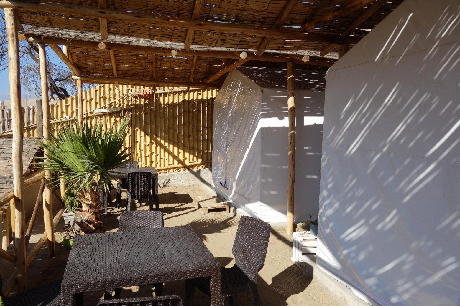 Huacachina Unterkunft