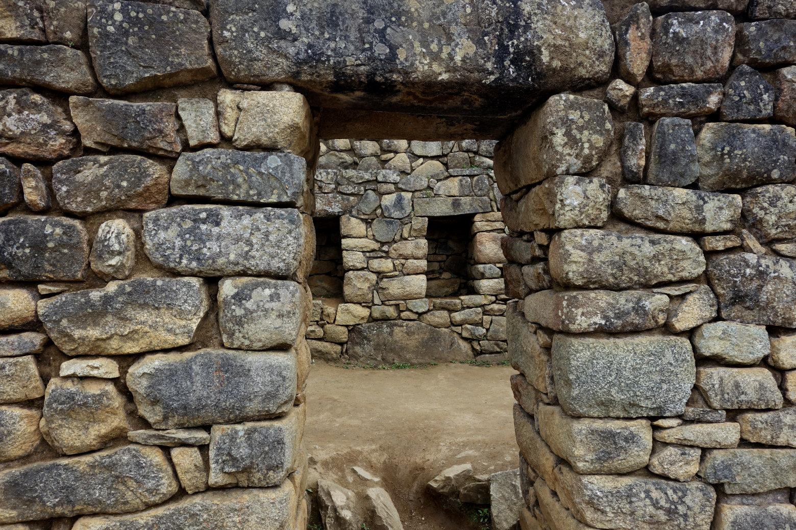 Machu Picchu Steinmauern