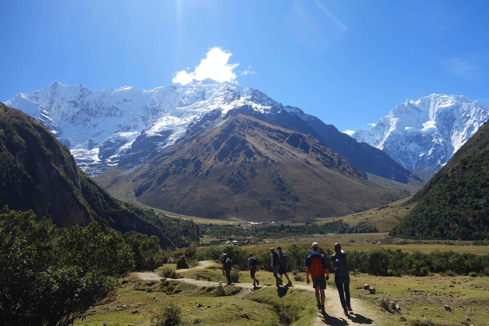 Peru Salkantay Trek Soraypampa