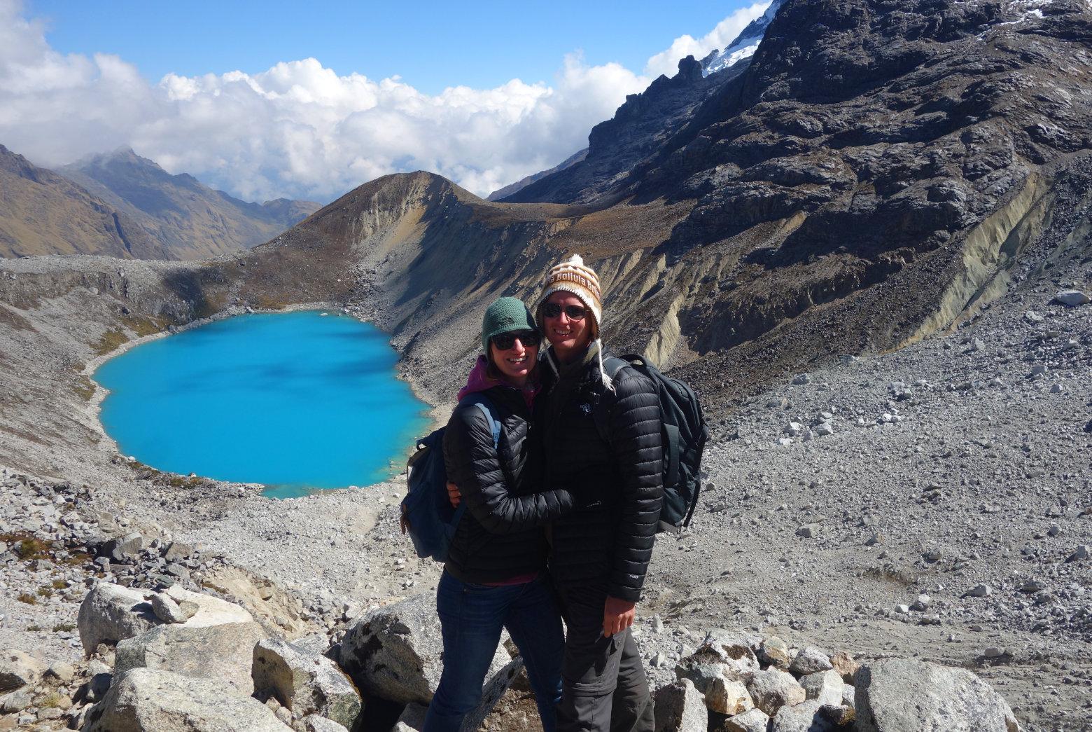 Salkantay Trek Laguna Salkantay Paar