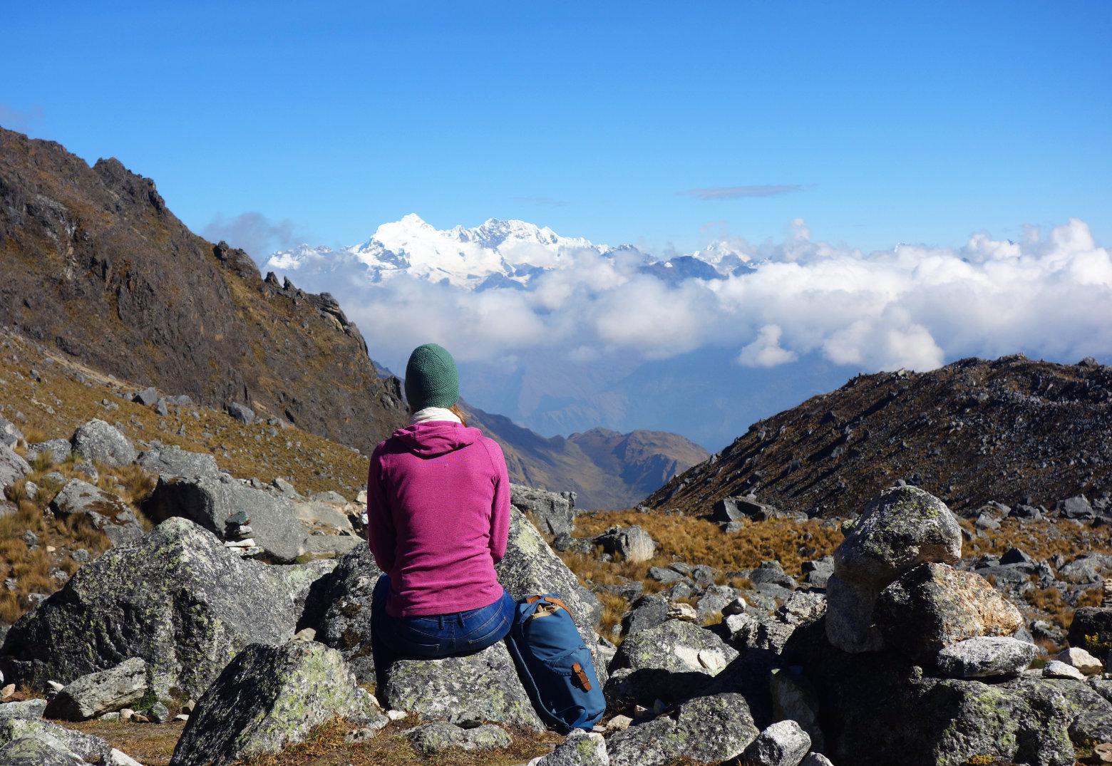 Peru Salkantay Trek Pass Franzi