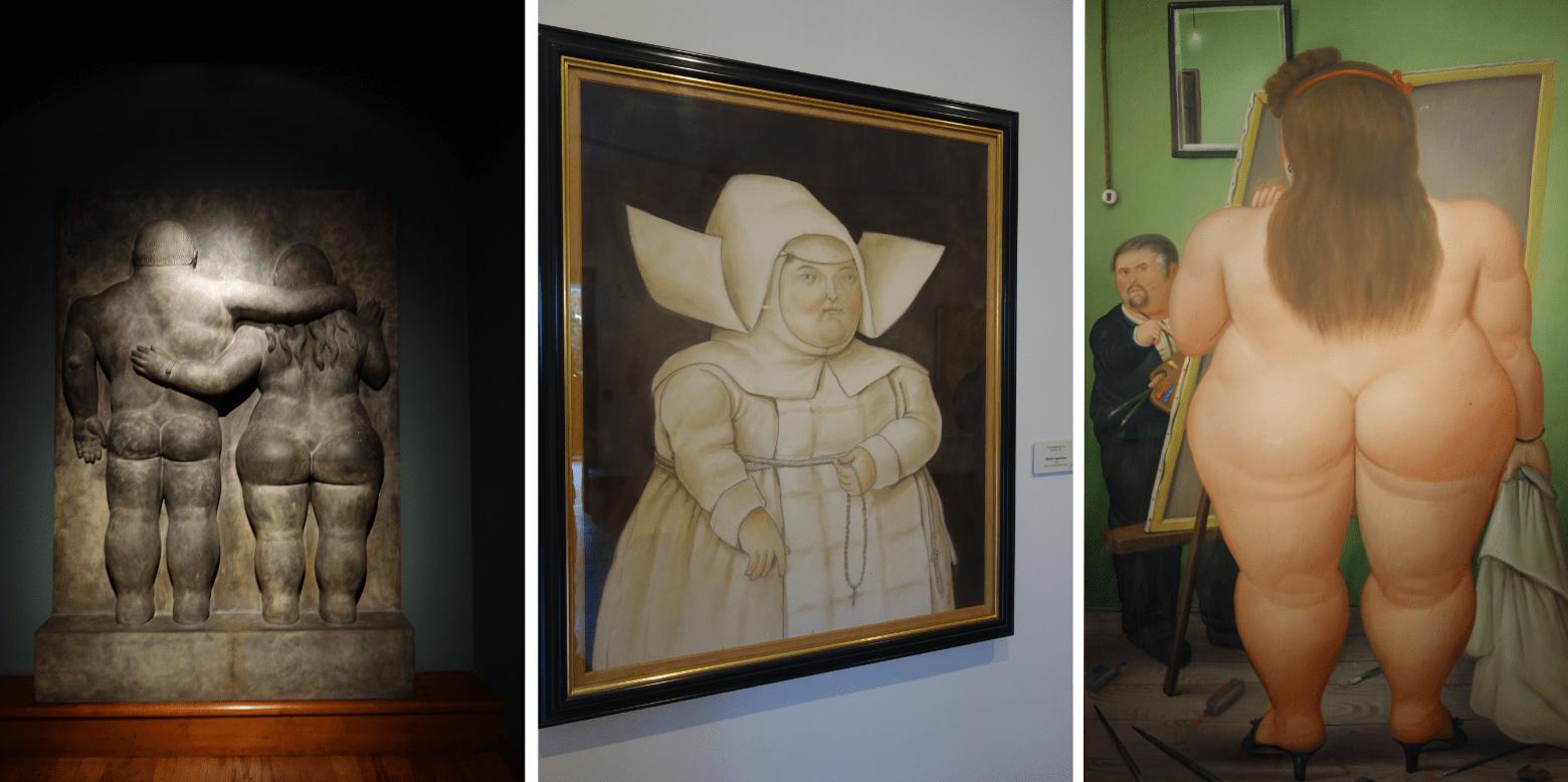 Bogotá Botero Museum Gemälde