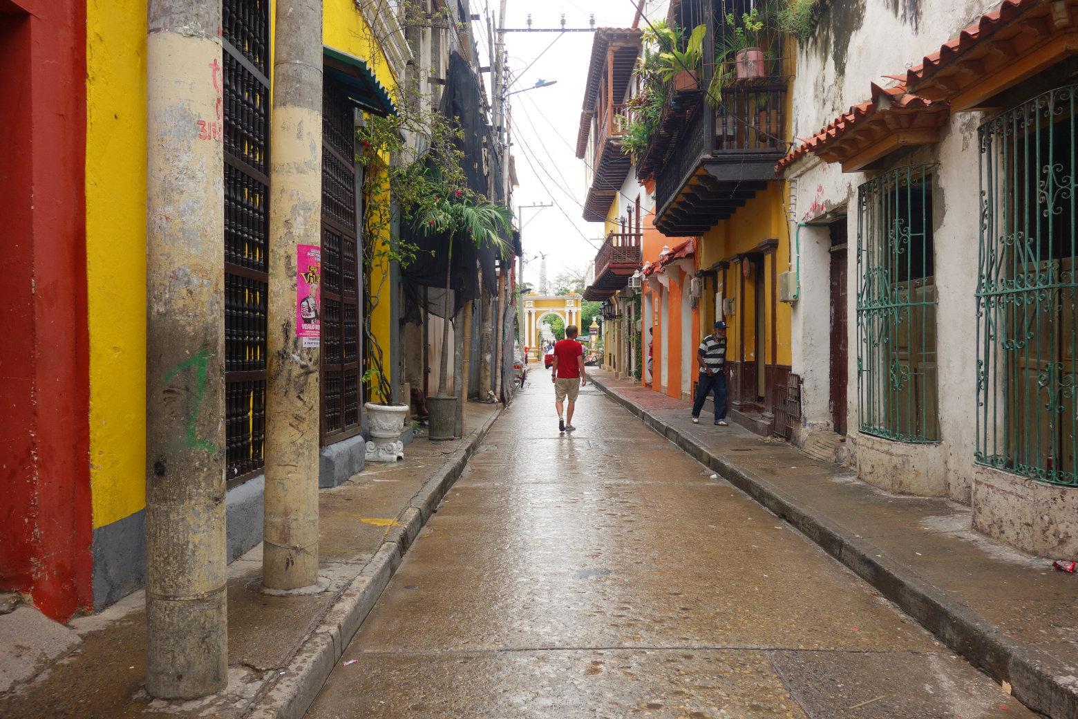 Cartagena Getsemani Gasse